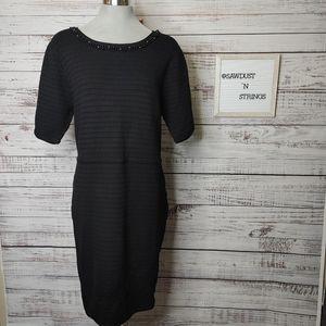 Simons textured knit sweater dress size XXL